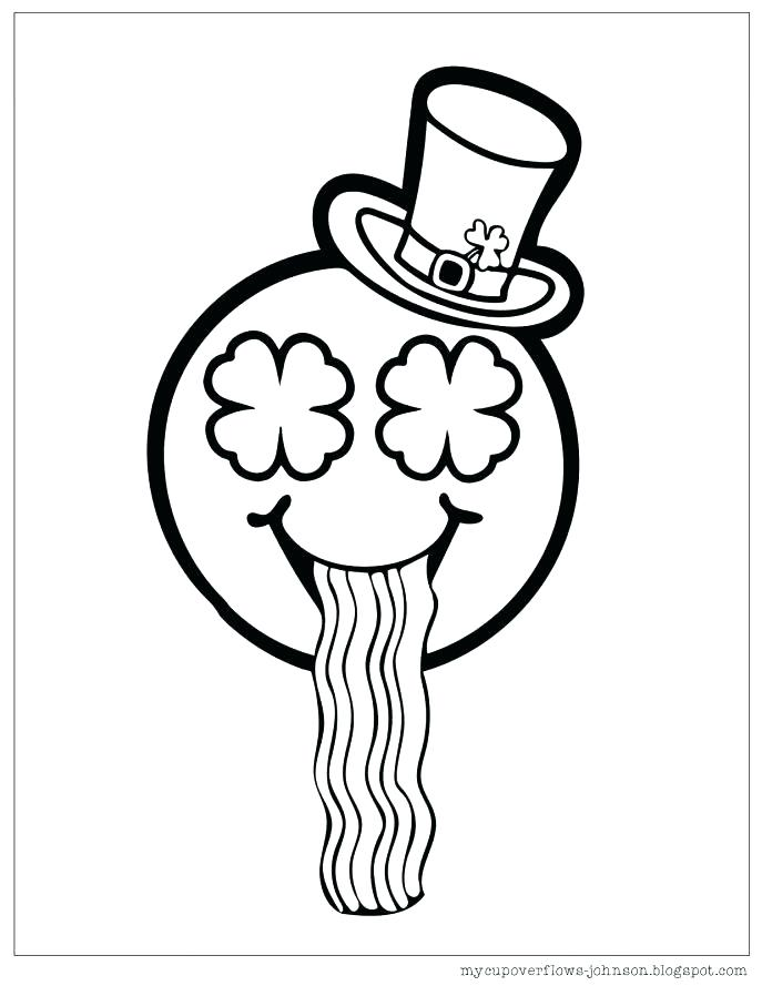 687x889 St Patricks Day Colouring Pages Printable Coloring Book Themes