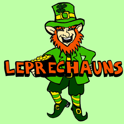 400x400 Drawing Leprechauns With Simple Illustrated Steps For Saint