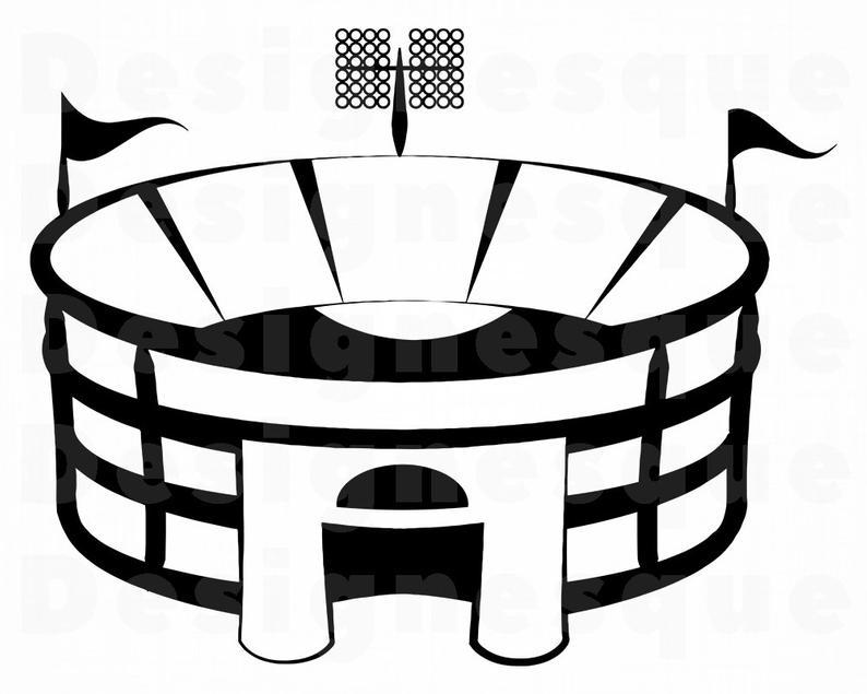794x635 stadium sports stadium clipart stadium for etsy