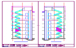 Staircase Plans Drawing