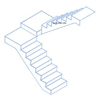 Staircase Plans Drawing   Free download best Staircase Plans