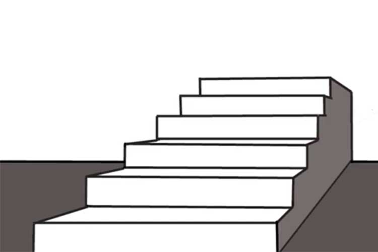 Staircase Section Drawing   Free download best Staircase Section
