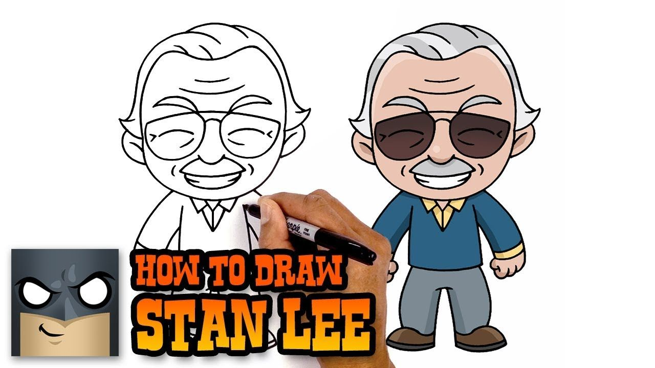 1280x720 How To Draw Stan Lee Tribute Tutorial