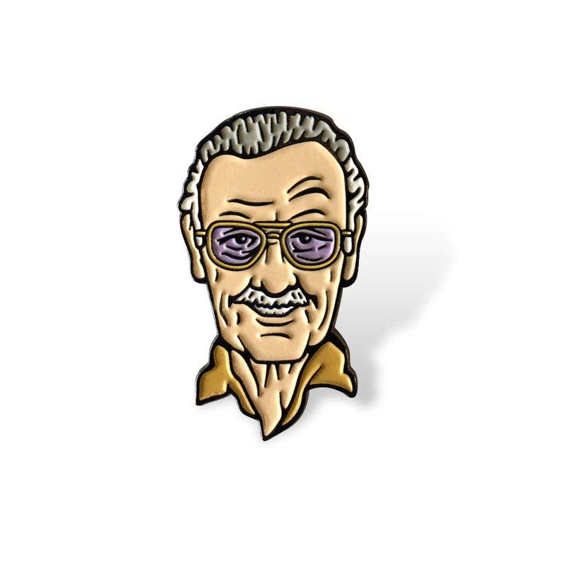 794x794 Stan Lee Enamel Pin Etsy