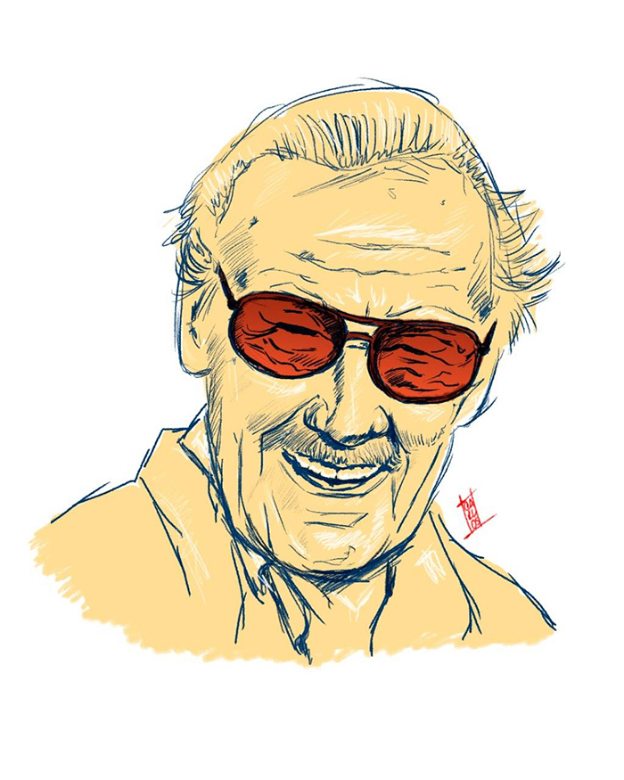 700x875 Artists' Tributes To Late Comic Book Legend Stan Lee Just