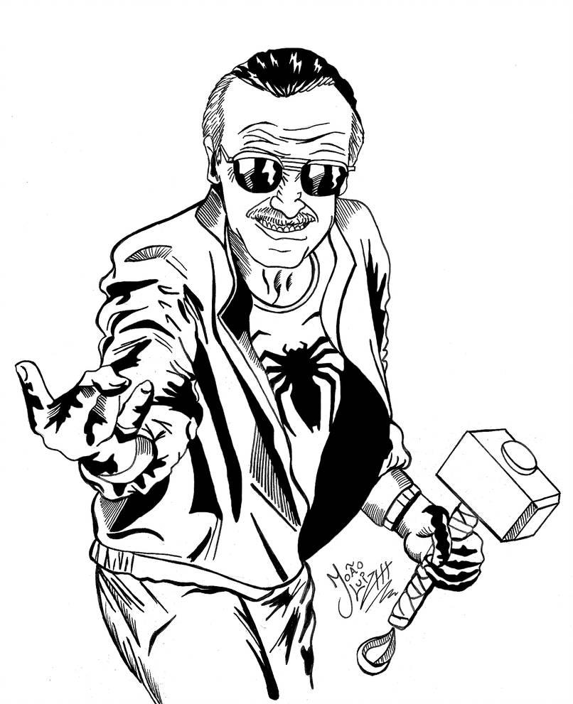 806x991 The Man Stan Lee