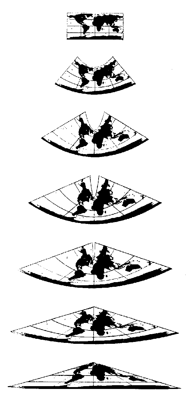606x1262 Right Varying The Standard Parallel On Tissot's Projection