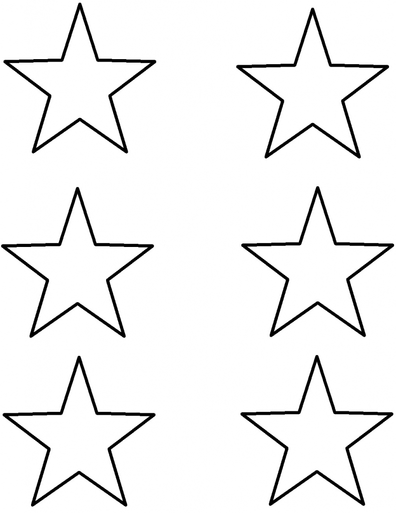 791x1024 Outline Drawing Star For Free Download