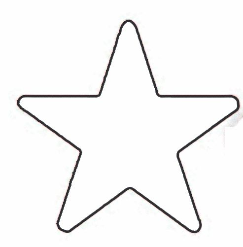 493x501 Small Star Outline Free Download Clip Art