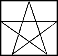 200x194 How To Draw Stars The Star Of David With Easy Step