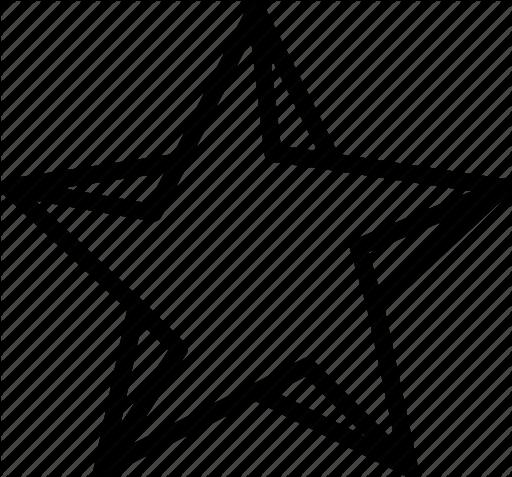 512x477 Drawing, Form, Geometry, Shape, Star Icon