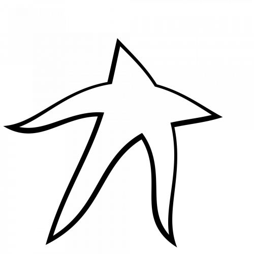 500x500 Free Photos Outline Star Search, Download