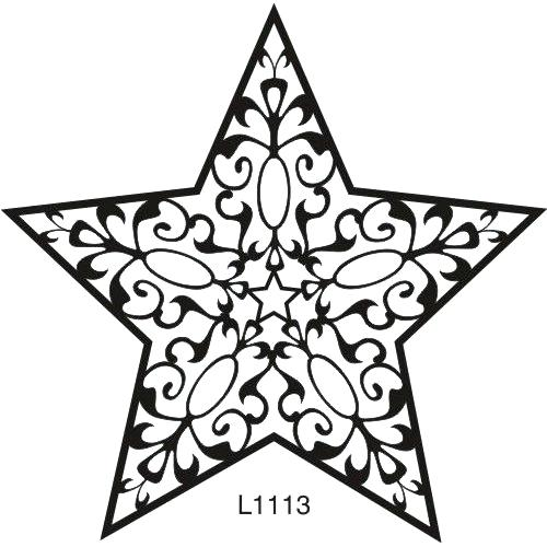 500x500 Star Outline Clipart Star Outline