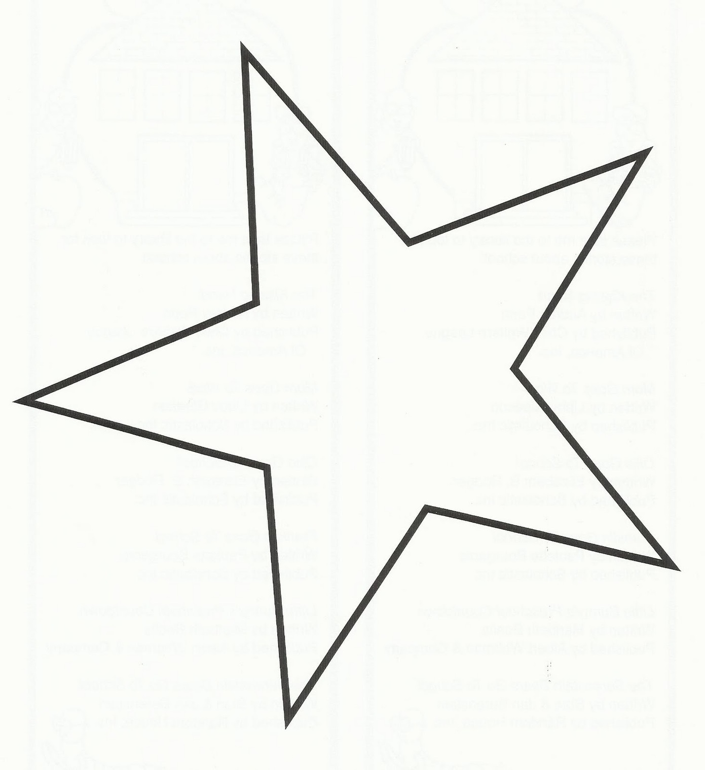 1391x1520 Star Outline Images Images For Point Star Outline Clipart Free