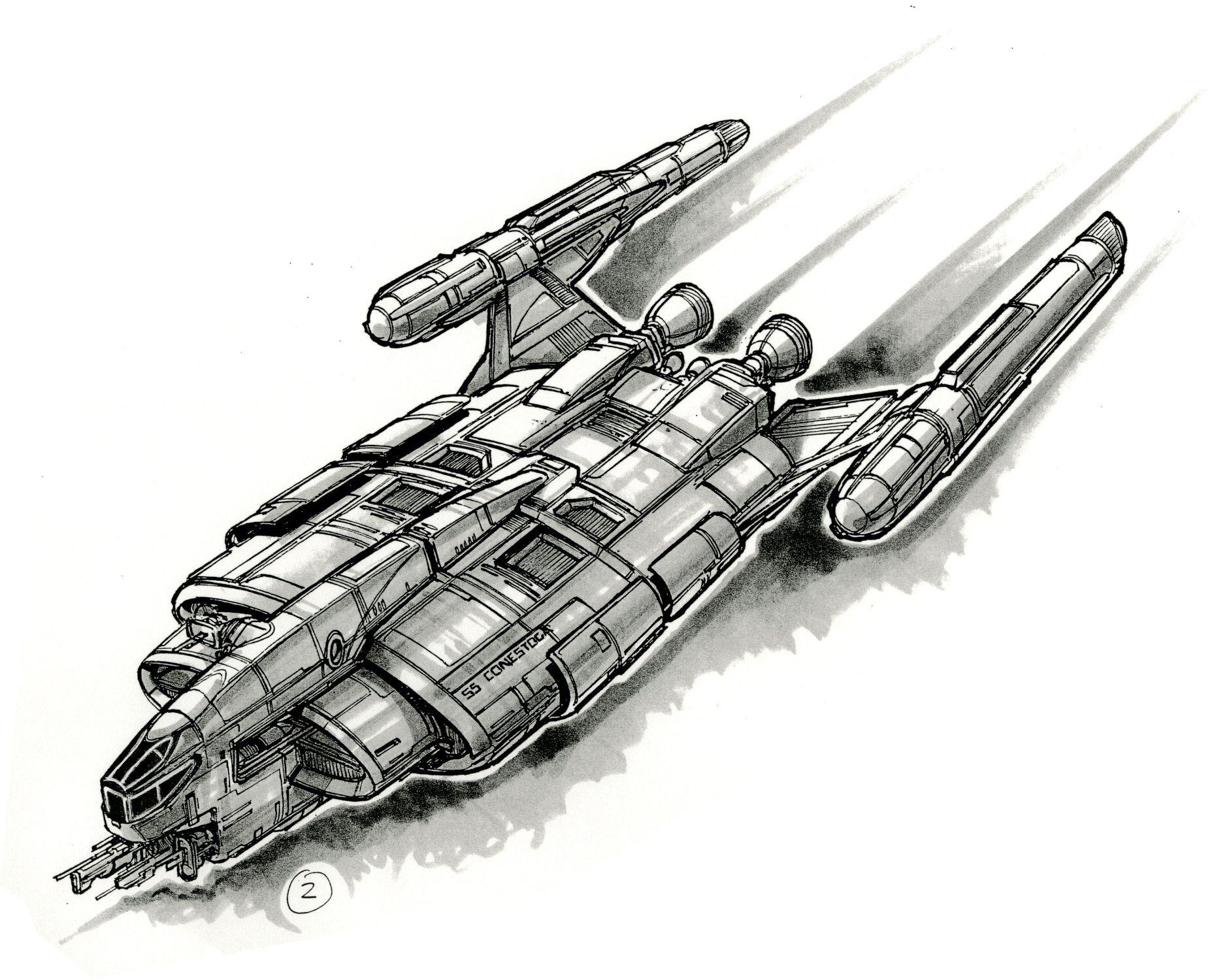 1881x1500 ss conestoga star trek star trek ships, star trek enterprise