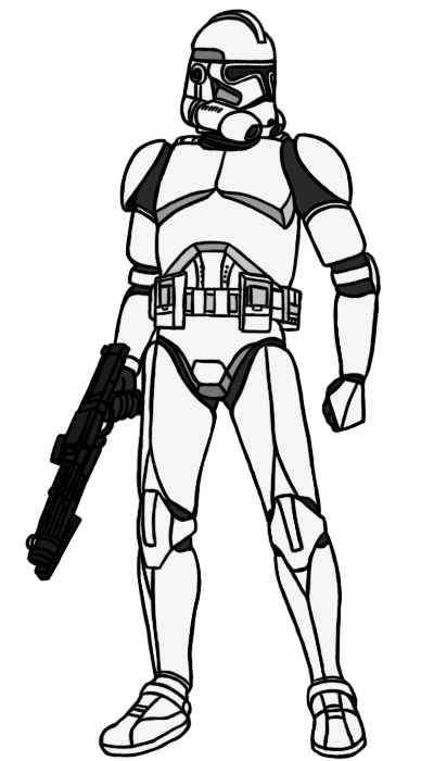 400x700 Collection Of Free Lego Drawing Clone Trooper Download On Ui Ex