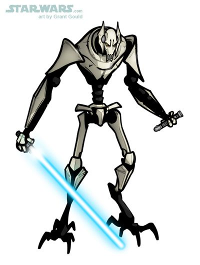 400x530 Draw General Grievous From The Clone Warsby Grantgoboom