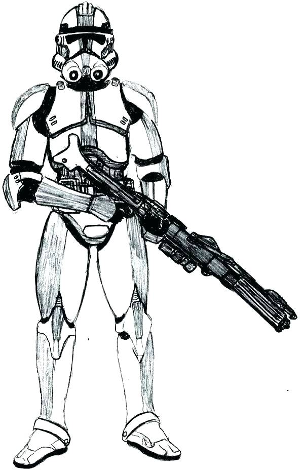 600x936 Star Wars Clone Coloring Pages Commando Klubfogyas