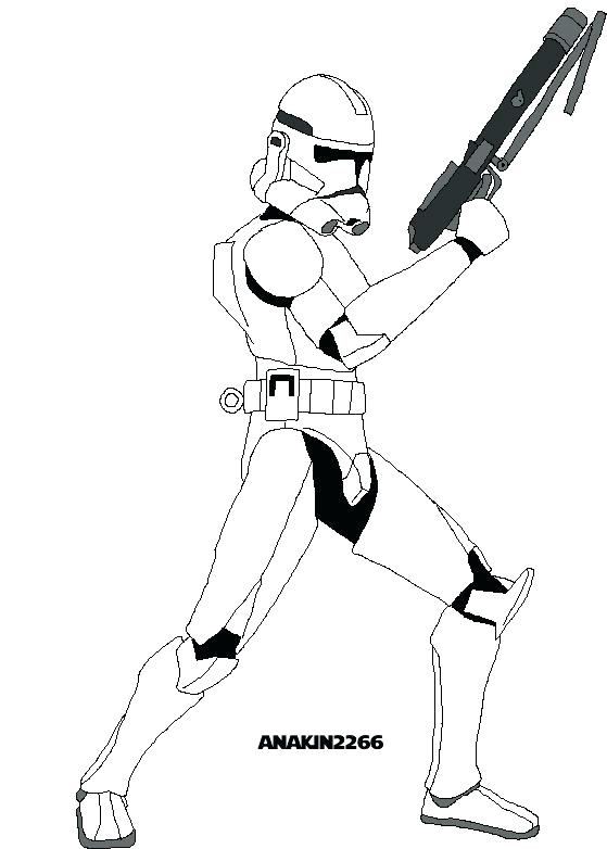 559x782 Star Wars Clone Trooper Coloring Pages Star Wars Clone Trooper