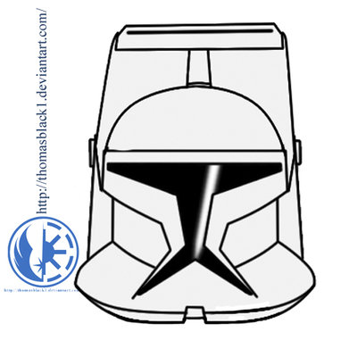 400x400 Star Wars Helmet Coloring Pages