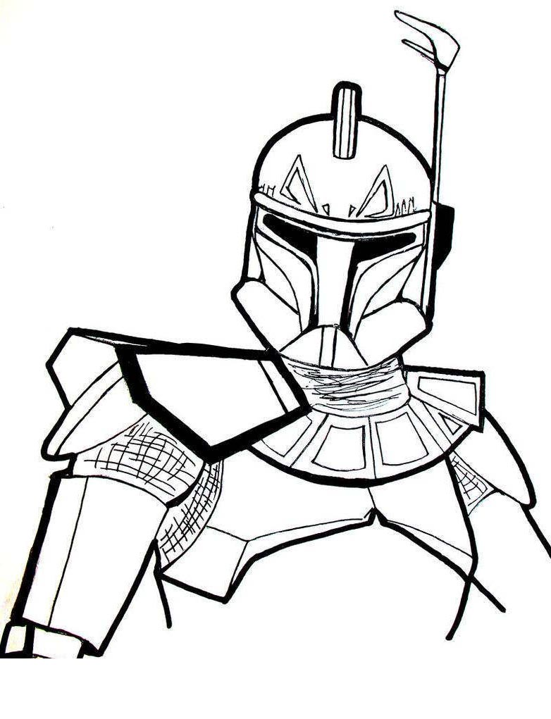 782x1021 Star Wars X Wing Fighter Coloring Pages Clone Captain For Boys