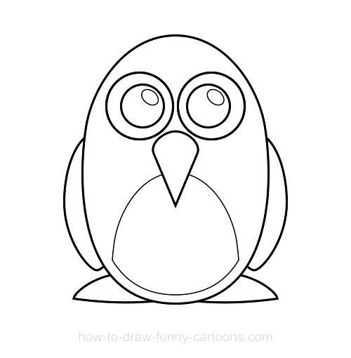 500x510 penguin drawing easy penguin drawing easy penguin drawing tutorial
