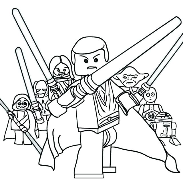 640x656 star wars lego coloring star wars coloring pages star wars