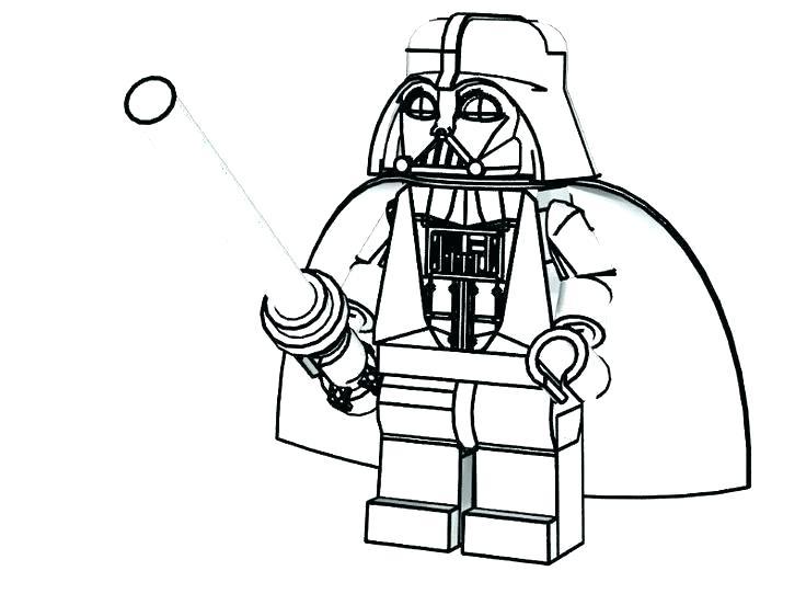 Star Wars Line Drawing