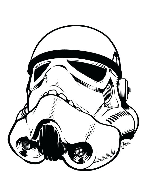 picture about Stormtrooper Mask Printable named Star Wars Stormtrooper Helmet Drawing Cost-free down load easiest