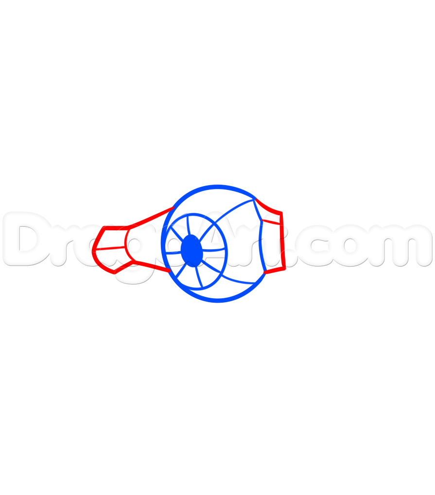 895x1019 How To Draw A Tie Fighter Easy, Step