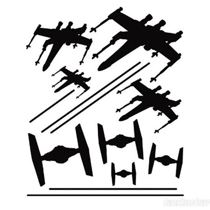 736x736 Star Wars Tie Fighter Silhouette