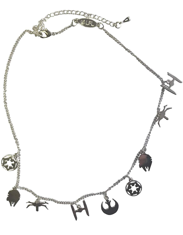 1172x1500 Star Wars Necklace Symbols Rebel Alliance Falcon Tie