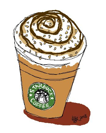 Starbucks Coffee Drawing Free Download Best Starbucks
