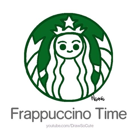Starbucks Frappuccino Drawing Free Download Best Starbucks