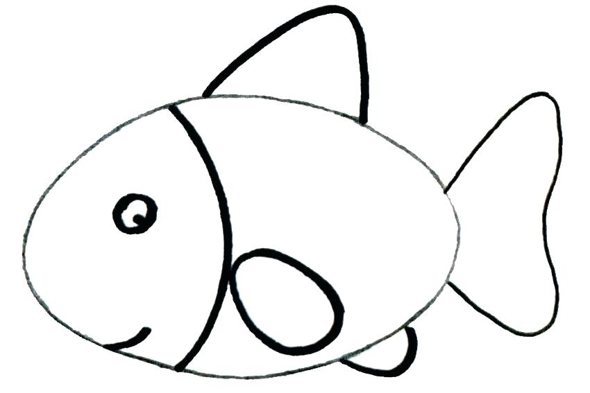 850x567 easy steps to draw a fish fish drawing images easy steps to draw