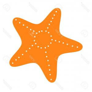 300x300 Pink Starfish Marine Animal Vector Illustration Drawing Isolated