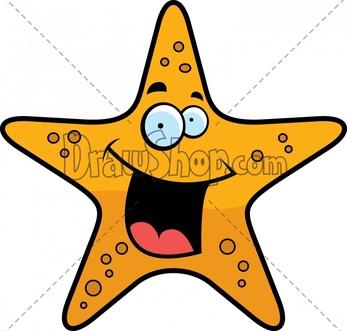 347x331 Drawn Starfish Drawing