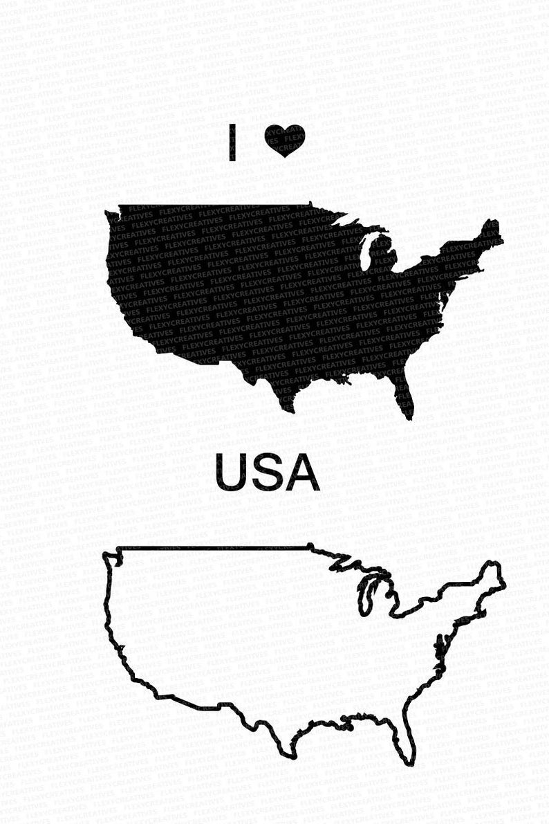 794x1191 usa vector state clipart united states clip art usa map etsy