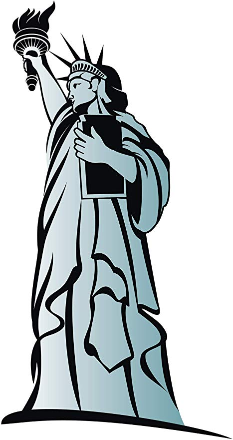 Statue Of Liberty Cartoon Drawing