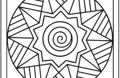 469x304 simple adult coloring pages easy adult coloring pages just