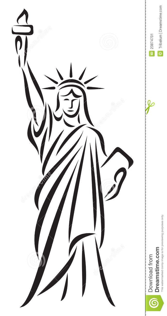 Statue of liberty pencil drawing free download best statue of