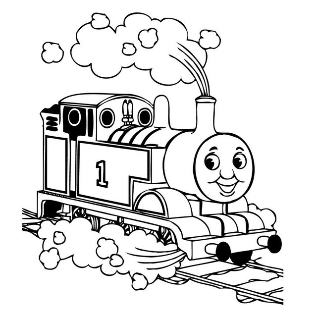 640x640 thomas the train clip art beautiful thomas the tank engine drawing
