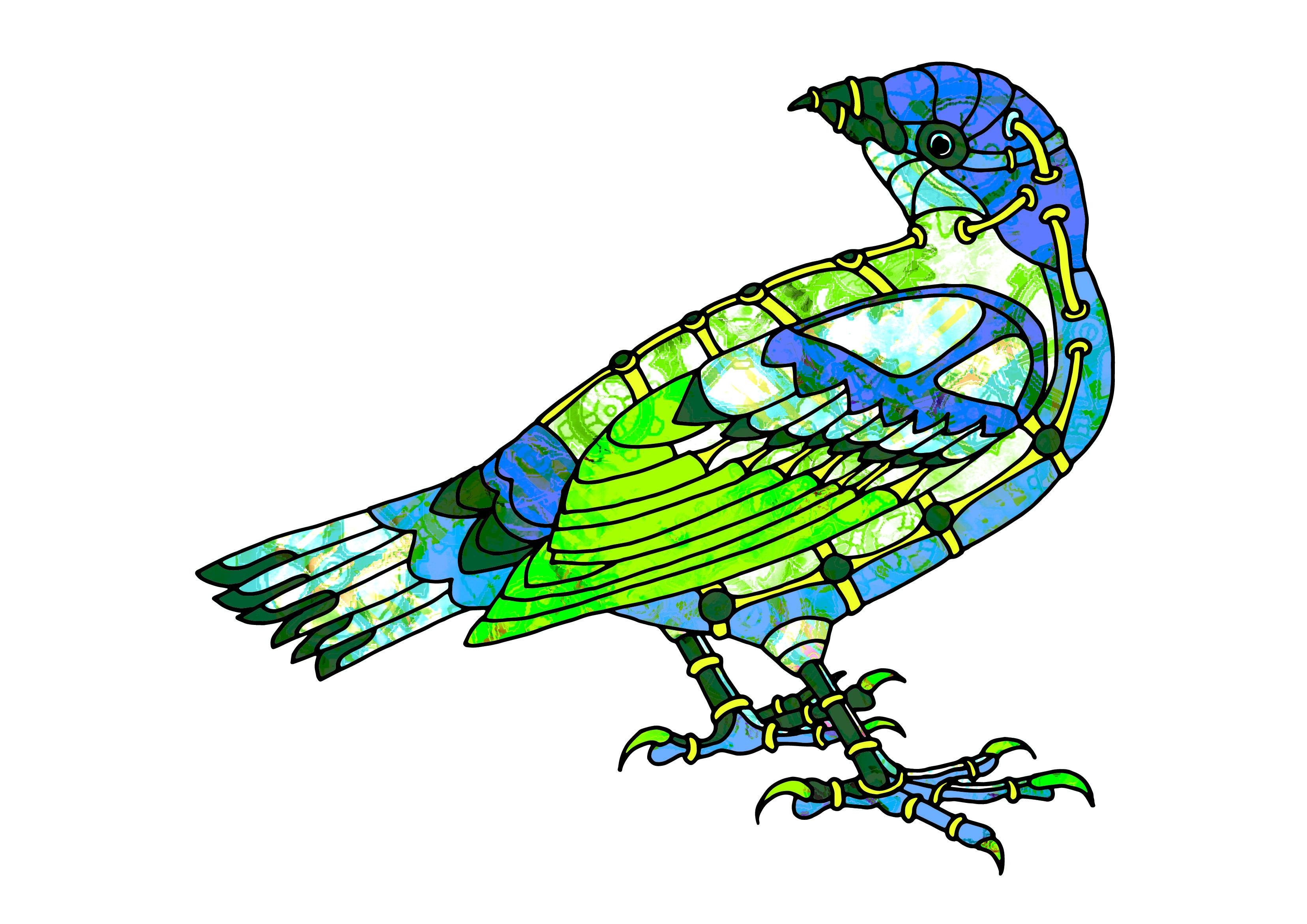 3312x2342 male bowerbird steampunk birds steampunk bird, steampunk, bird