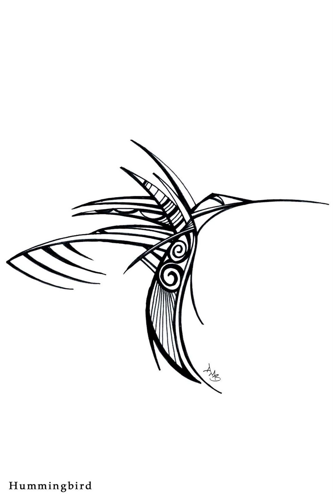 1067x1600 Hummingbird Drawing Steampunk For Free Download