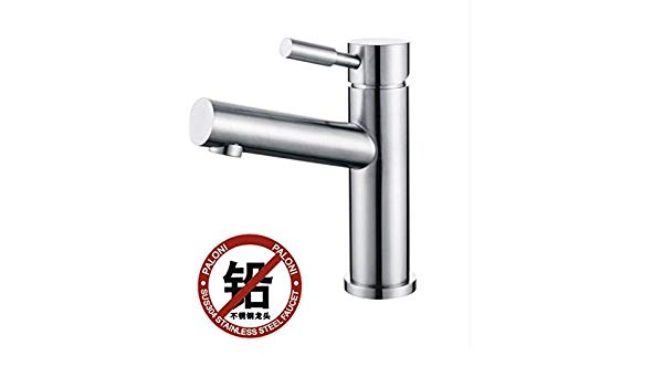 600x350 Groeshane Stainless Steel Basin Faucet Lead Free Wire Drawing