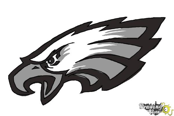 600x400 How To Draw Philadelphia Eagles Logo, Nfl Team Logo
