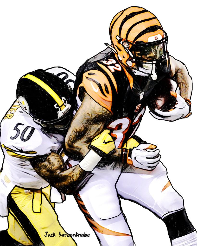 819x1024 Cincinnati Bengals Jeremy Hill