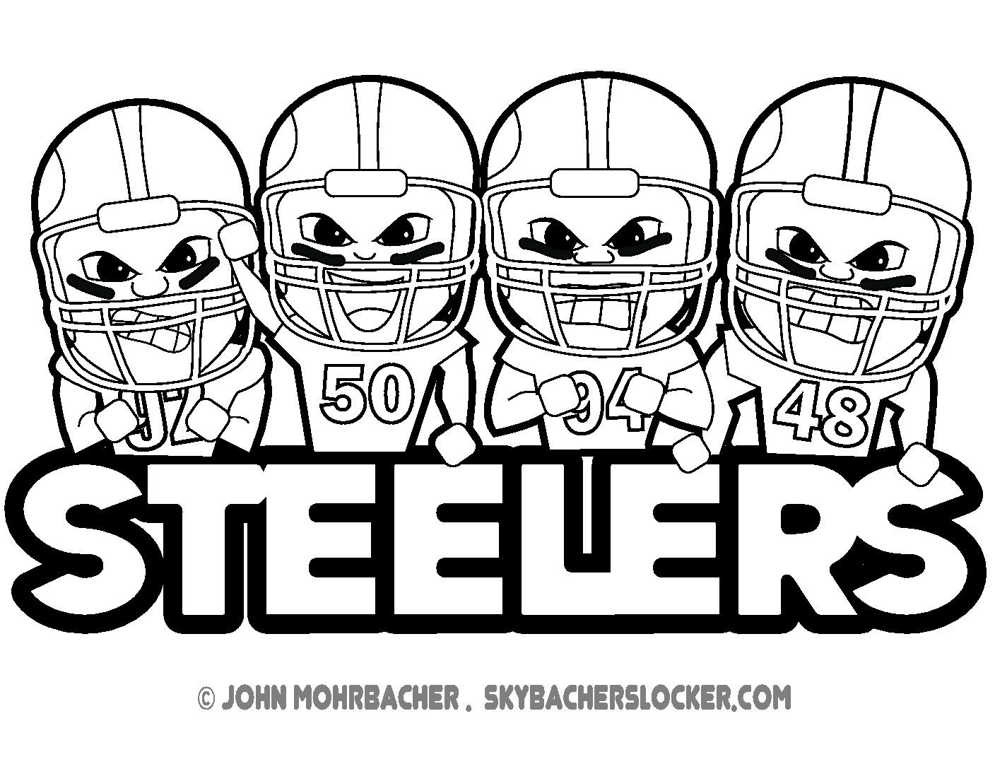 1408x1088 Steelers Logo Coloring Page, Steelers Coloring Pages Printable