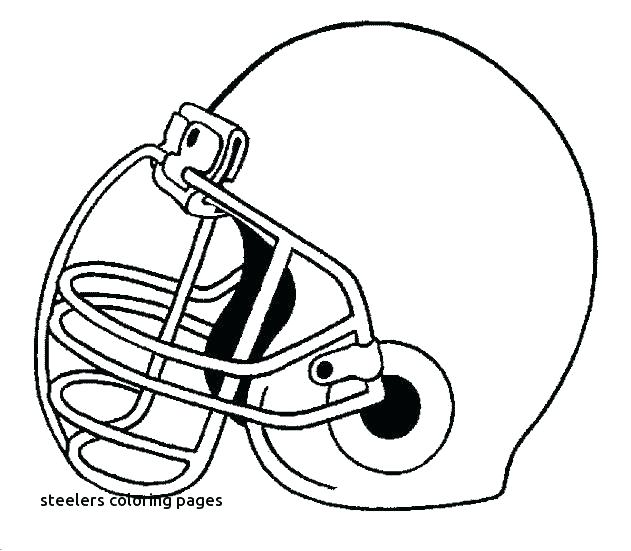 631x551 Steelers Coloring Pages Coloring