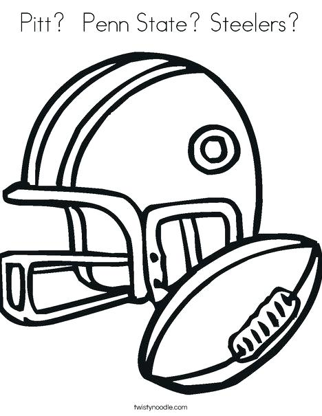 468x605 Black Jersey Pittsburgh Steelers Logo Coloring Pages